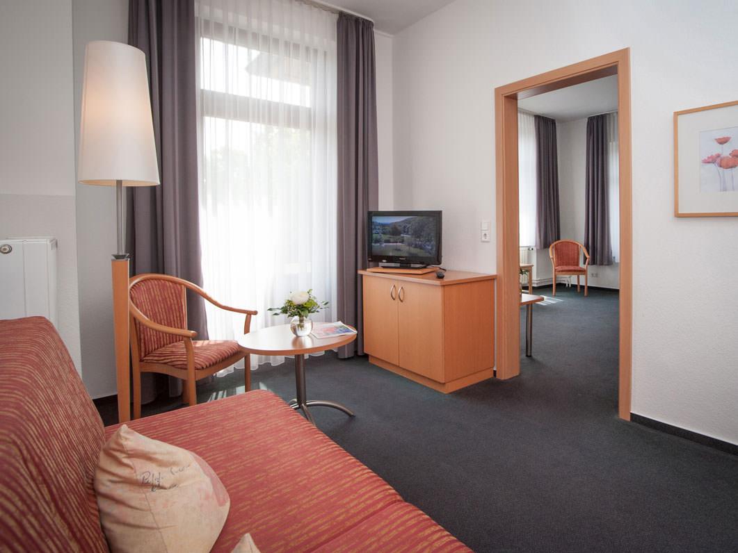 Ferienwohnung und Ausstattung im Hotel Hollmann in Halle Westf.